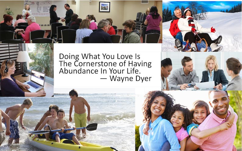 Do what you love and find abundance in your life