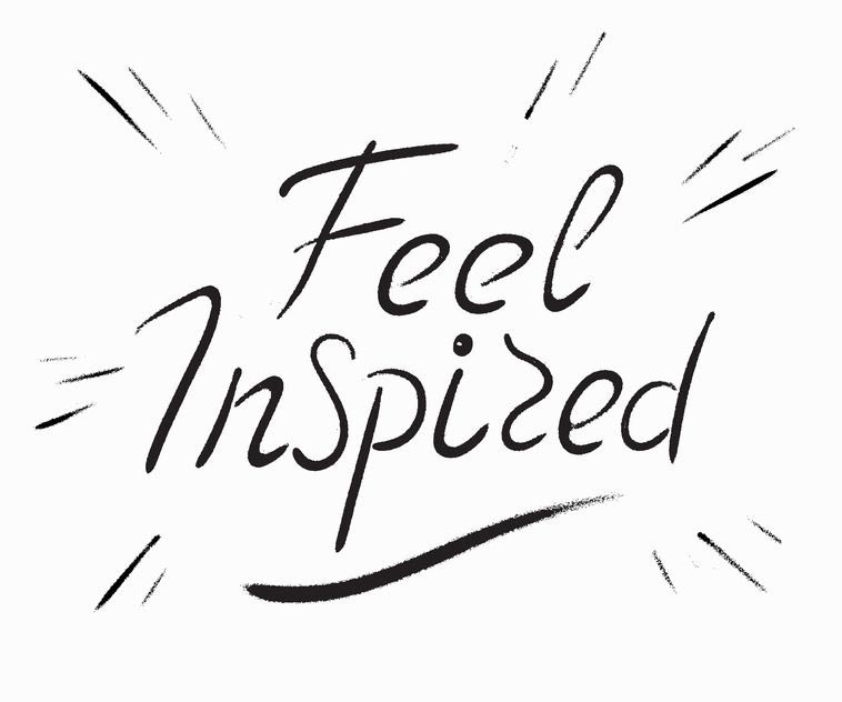 Feel inspired