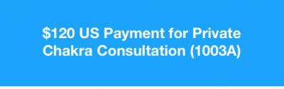 Private Chakra Consultation (1003A)